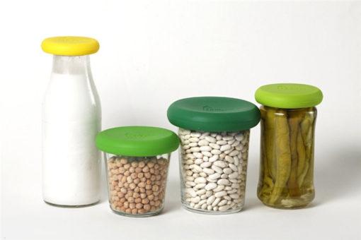 silikon frischhalte aufsetzer für gemüse