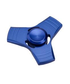 Flügel Tri-Spinner Fidget blau