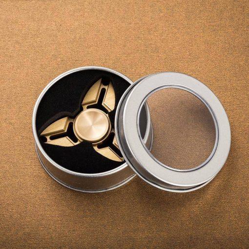 Hochwertiger Kupfer Fidget Spinner mit Box