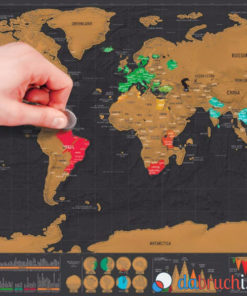 Weltkarte zum aufrubbeln bestellen