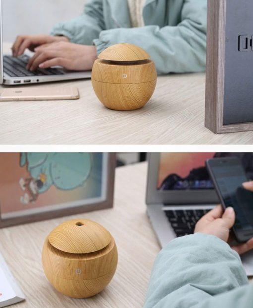 kleiner dekorativer USB Luftbefeuchter Schweiz