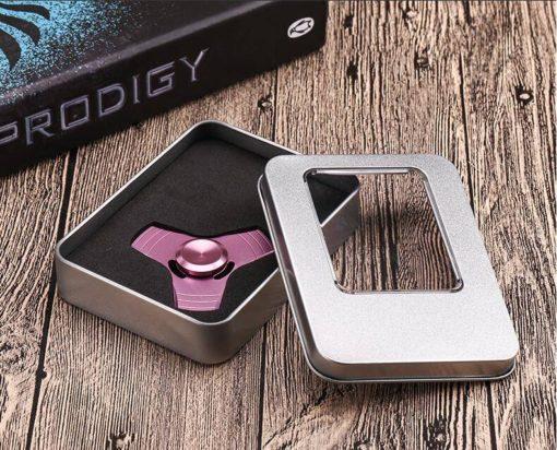 hochwertiger fidget spinner mit box