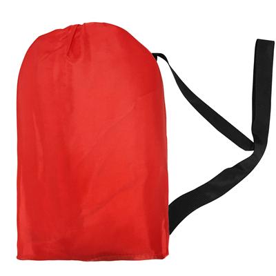Chillbag Aufblasbarer Sitzsack Luftsofa Rot Dabruchi