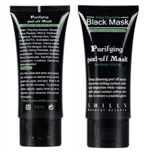 Schwarze Gesichtsmaske gegen Mitesser Shop Schweiz