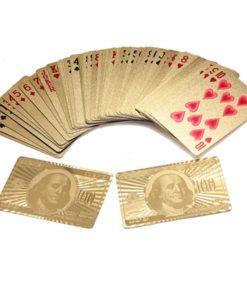 Goldene Pokerkarten kaufen