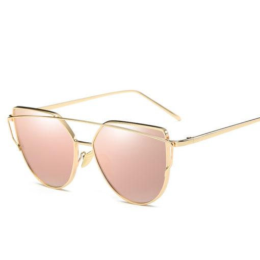Katzenaugen Sonnenbrille pink kaufen
