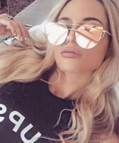 Katzenaugen Sonnenbrille Trend 2017