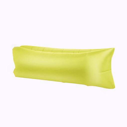Chillbag aufblasbarer Sitzsack gelb