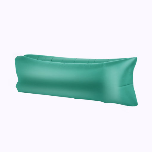 Chillbag aufblasbarer Sitzsack grün