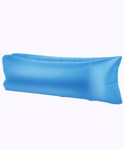 Chillbag aufblasbarer Sitzsack hellblau