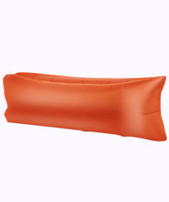 Chillbag aufblasbarer Sitzsack orange
