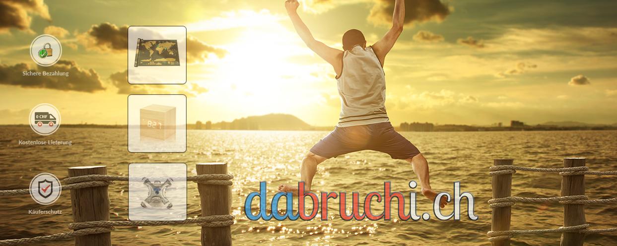 Dabruchi.ch Gadgetshop bei Facebook