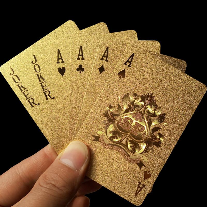 Gold Poker Karten bestellen Schweiz