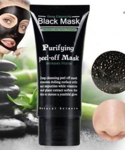 Schwarze gesichtmaske, black mask shop