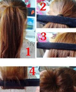 Dutt Haarknoten Haarband Teil