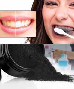 Aktivkohle Weisse Zähne