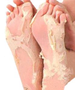 Hornhaut entfernen mit Hornhaut-Socke Fussmaske