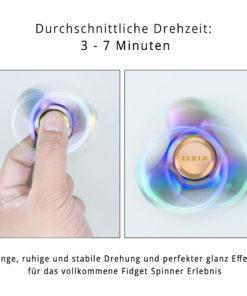 Hochwertiger Metal Fidget Spinner Rostfreier Stahl Kugellager