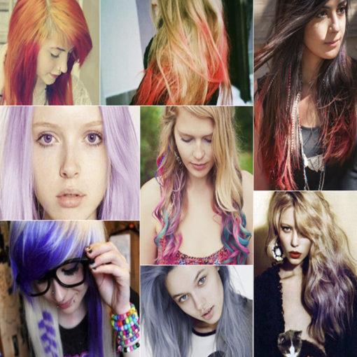 Haare färben auswaschbar