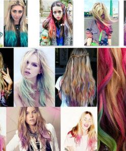 bunte Haarkreide zum Haare Färben