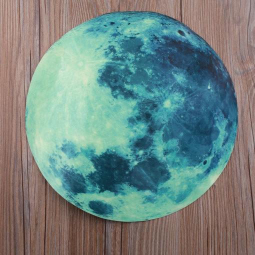 fluoreszierender Mond Wandkleber