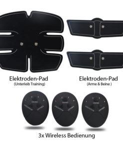 EMS Muskelaufbau durch Elektroimpulse