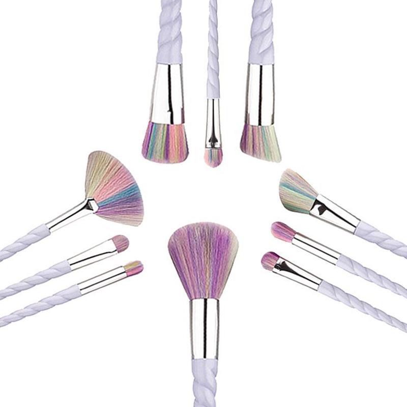 Make Up Pinsel Set Im Einhorn Look Dabruchi
