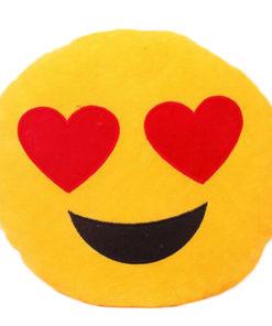 Emoji Kissen verliebt