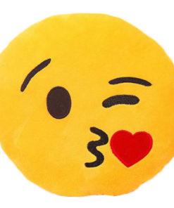 Emoji Kissen kuss