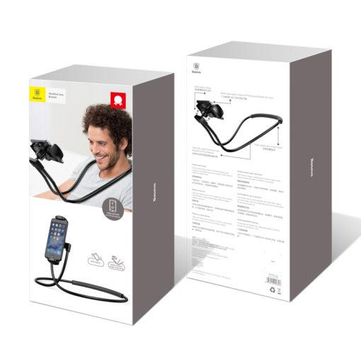 Flexibler Smartphone Ständer für den Nacken