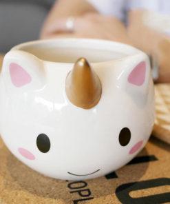 Einhorn Kaffeetasse Keramik