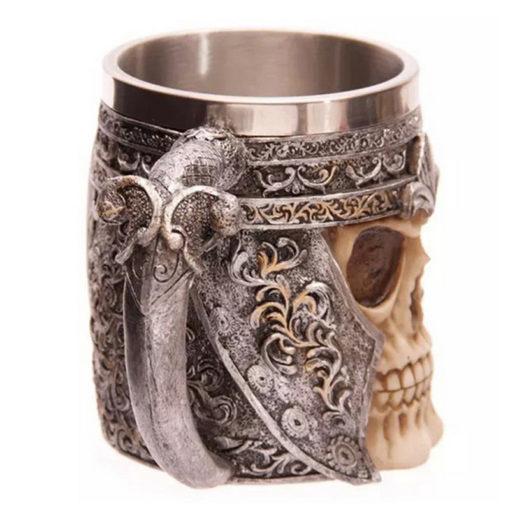 Vikinger Schädel Tasse