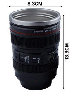 Kameraobjektiv Tasse