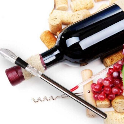 Weinkühlstab mit Ausgiesser