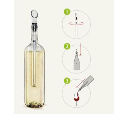 Kühlstab Weisswein Ausgiesser