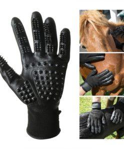Fellhandschuh für Pferde