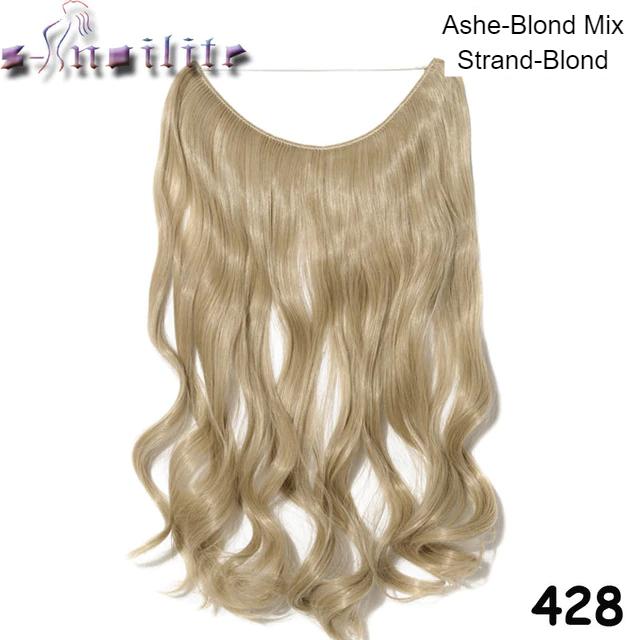 Haarverlängerung Blonde Locken Gebleicht