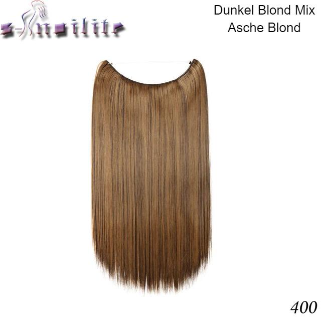 Haarverlängerung zum Einsetzen Braun