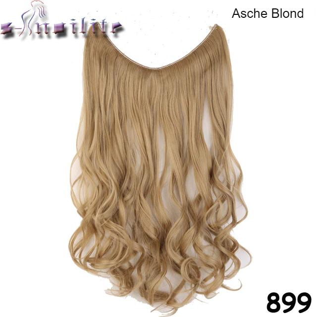 Haarverlängerung Asche Blond