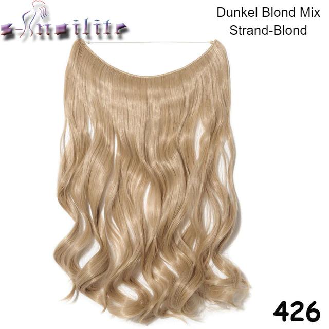 Haarverlängerung Blond Locken