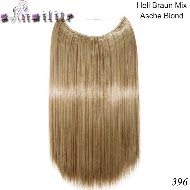 Haarverlängerung Hellbraun Gerade