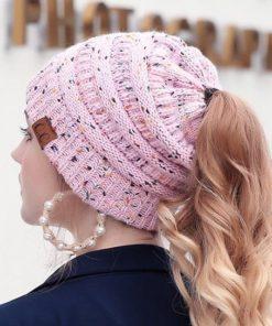 Mütze mit Loch für Haare Schweiz