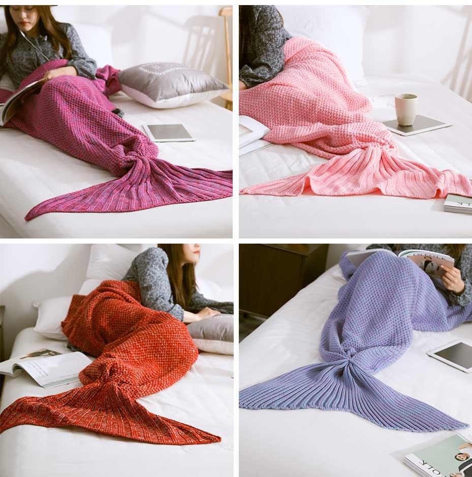 Meerjungfrau Flosse Decke