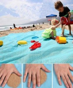 Sandfreie Strandmatte