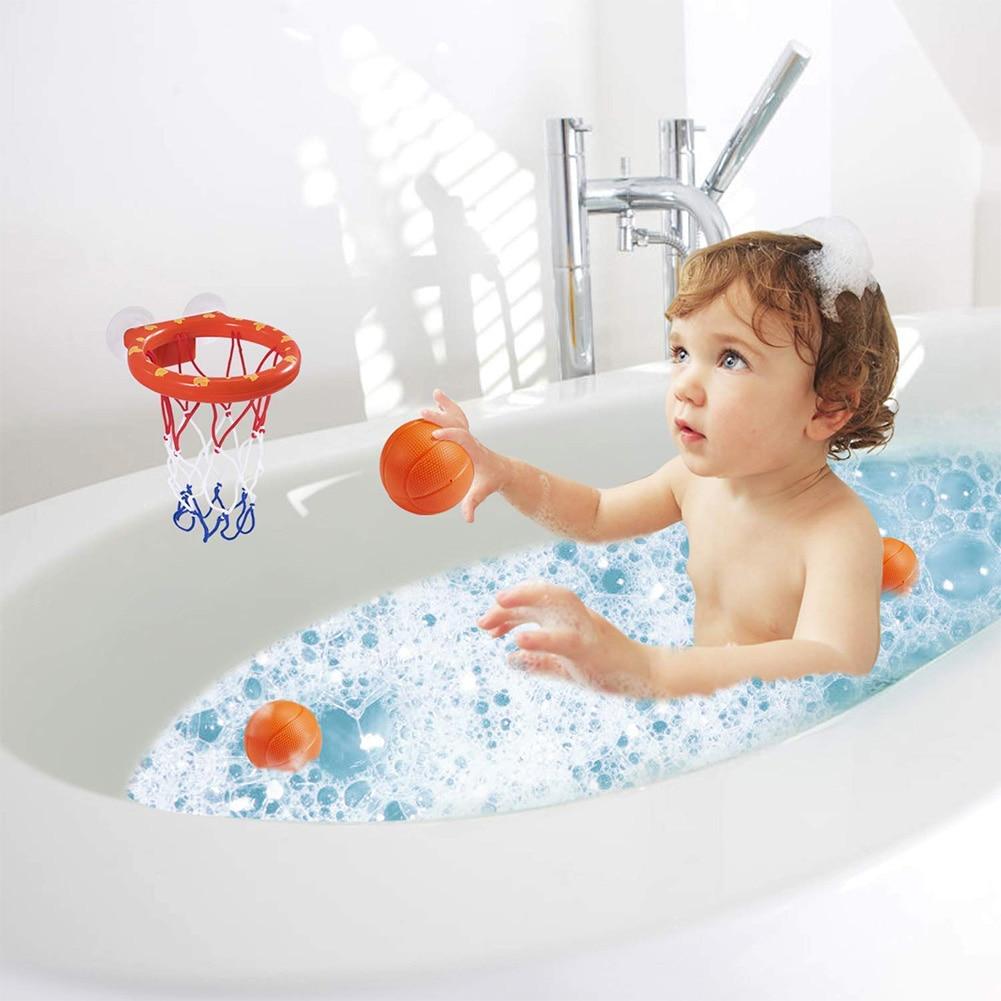Badewanne Basketballkorb WC Kinder