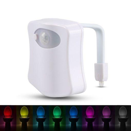 Bewegungssensor WC Schüssel Beleuchtung