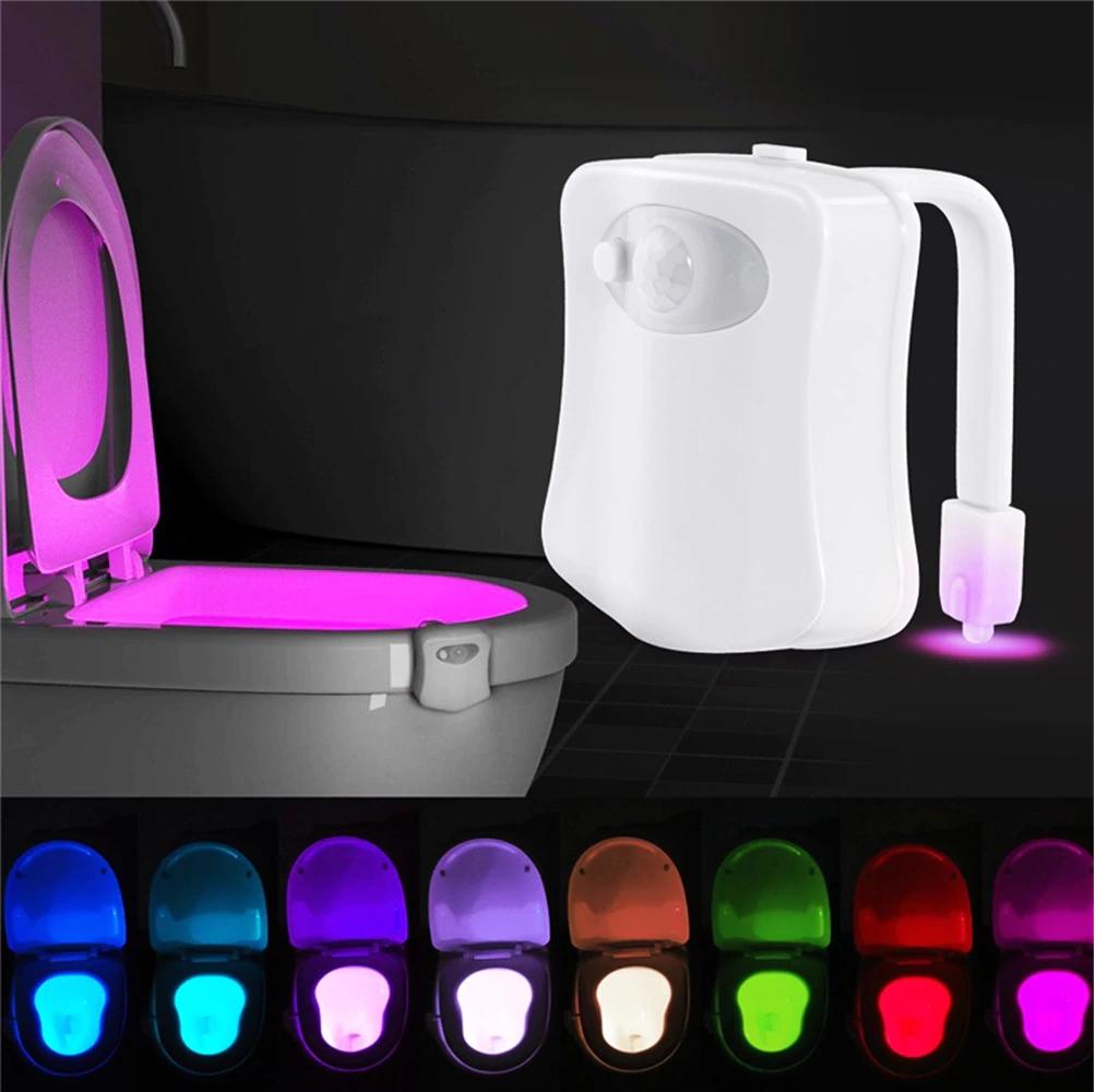 Farbiges WC Nachtlicht Bewegungssensor Schweiz