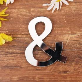 Wanddeko Buchstaben einzel