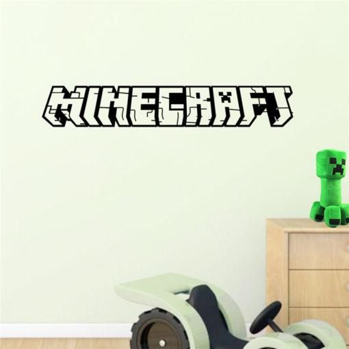 Minecraft Logo Wandaufkleber Schweiz