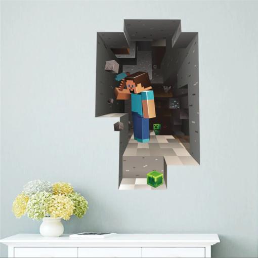 Minecraft Höle Kleber für die Wand